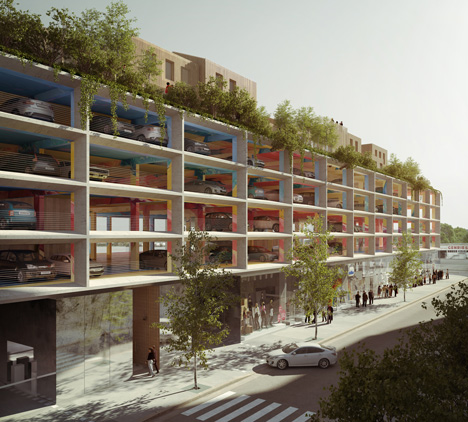 Car parks vs infill (the debate continues)