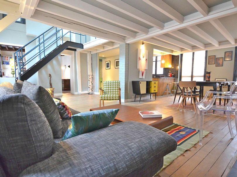 spacious apartment designs