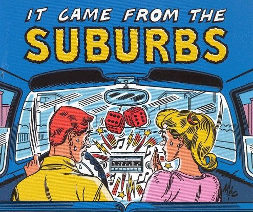 Where does suburbia fit into the Perthequation?